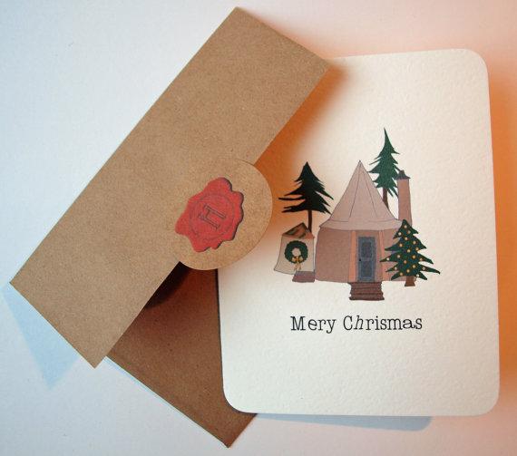 hp christmas card
