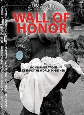 from my bookshelf: humanity wall of honor
