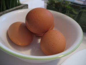 perfect hardboiled eggs in bowl