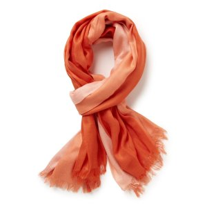 ombre 3 layer scarf