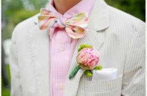pastel groom style