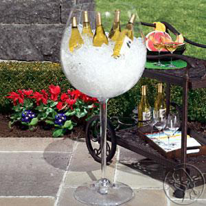 wine glass wine container