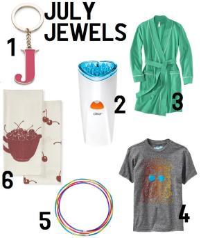 roundup: july jewels