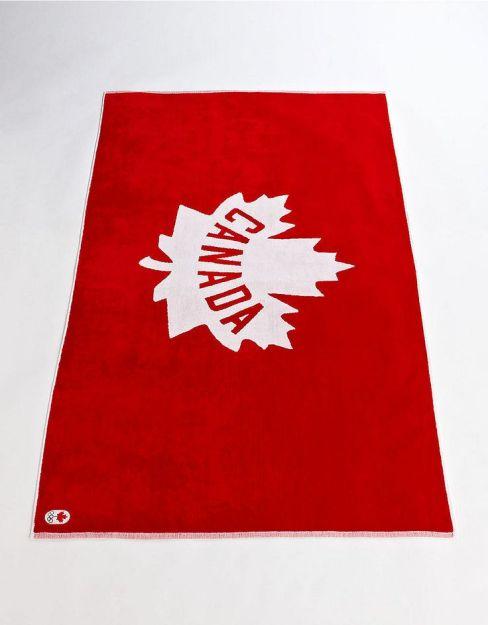 Canada beach towel