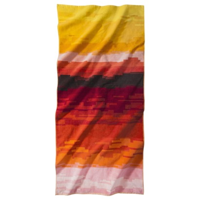 ombre extra large towel